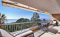 Vente appartement Cannes Californie vue mer panoramique