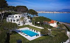 Villa contemporaine à vendre Cap d'Antibes, piscine
