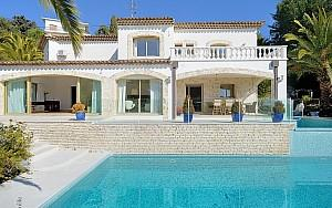 Piscine villa Super Cannes